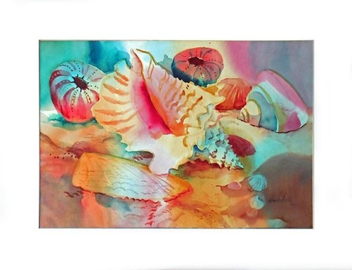 A Conch With Friends - matted.jpg