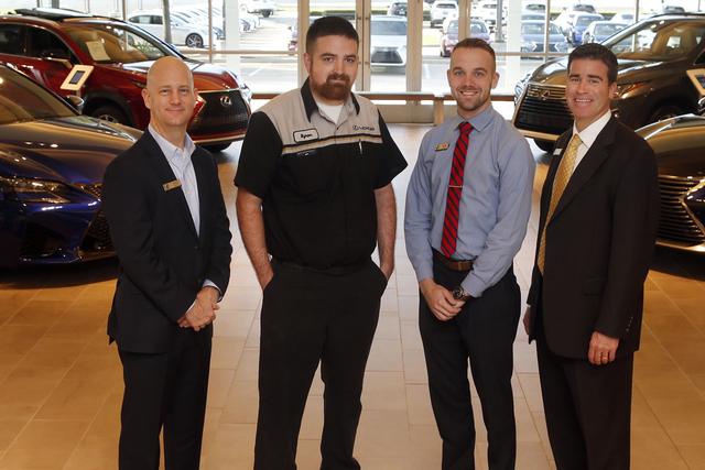 Park Place Lexus Grapevine Service Consultants Win Lexus Skills Showdown  Awards   Grapevine Online Local News   BubbleLife, TX